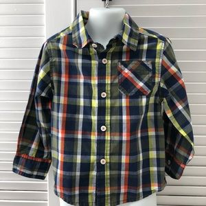 Other - Plaid button down - GREAT CONDITION